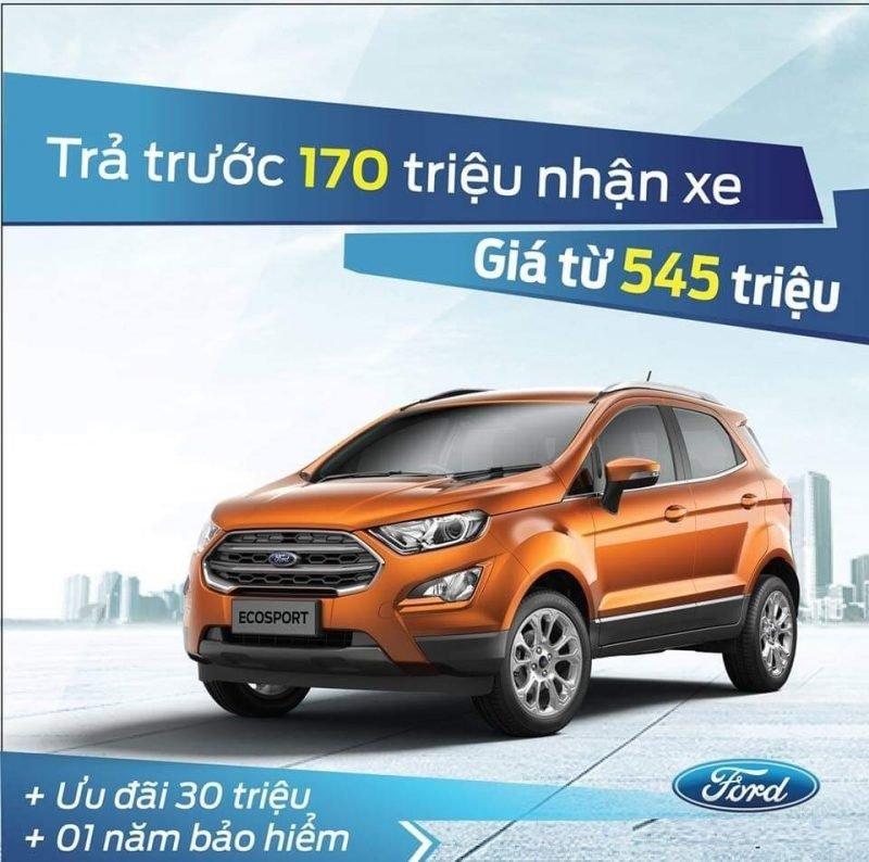 Bảng giá xe ford mới cập nhật khuyến mãi lớn nhất năm