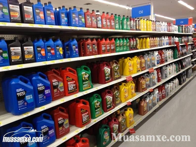 Các loại dầu nhớt xe ô tô trên thị trường. Top 10 loại bạn nên mua