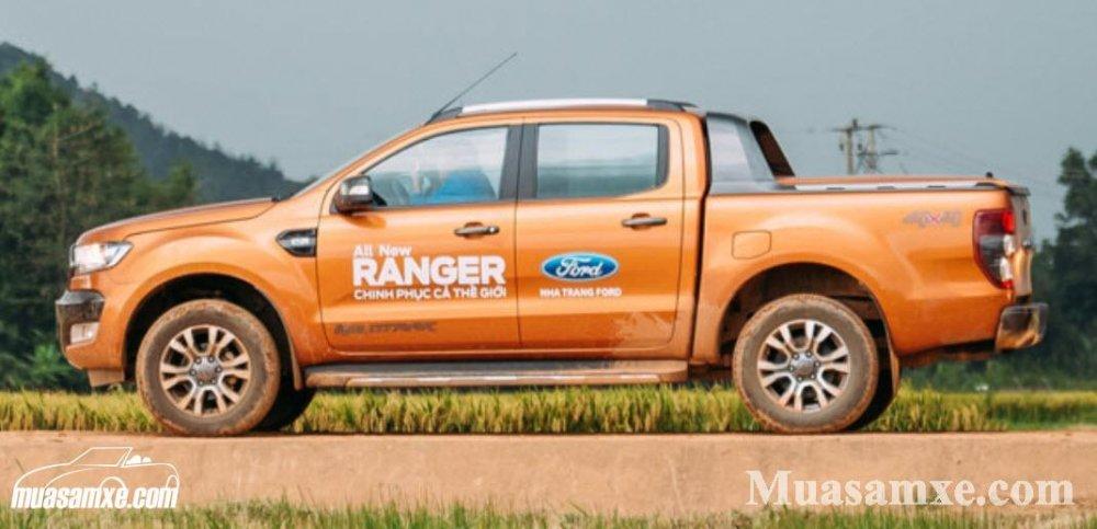 Đánh giá ưu nhược điểm ford ranger 2017-2018 kèm giá bán từng phiên bản