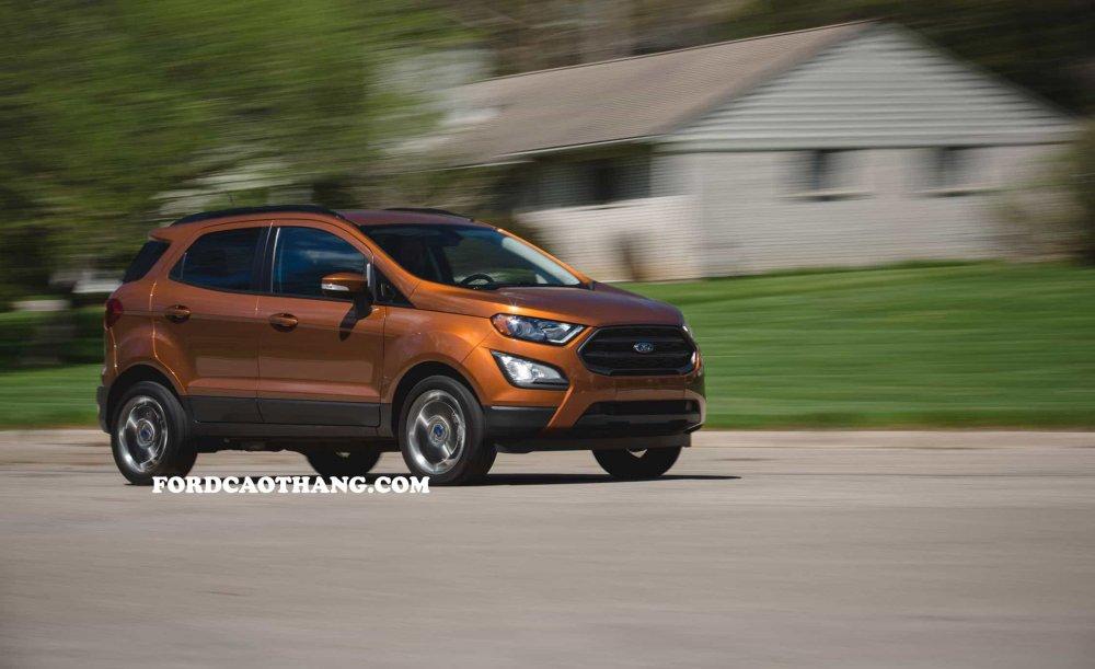 Đánh giá xe ford ecosport 2020 sơ bộ - bản nâng cấp tiến bộ, thông minh