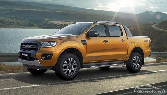 Giá xe ford bán tải - ford ranger nhập khẩu cập nhật mới nhất 2020