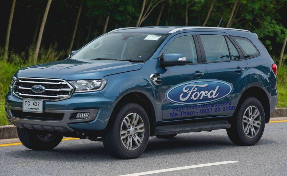 Giá xe ford everest 2019 cập nhật mới nhất 2020 kèm khuyến mãi