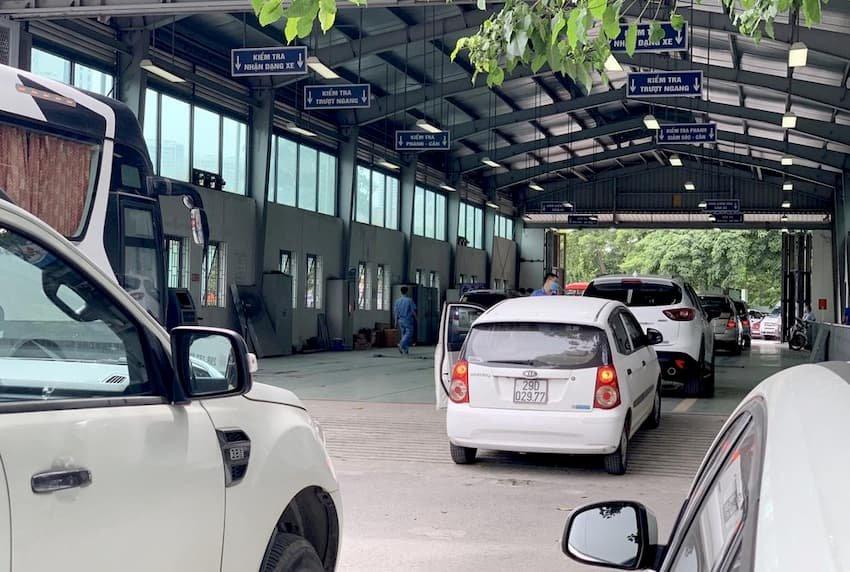 Hướng dẫn thủ tục đăng ký xe ô tô