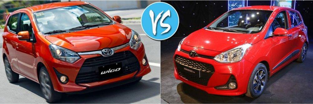 Toyota Wigo đối đầu Hyundai Grand i10: Tân binh có soán ngôi vua?