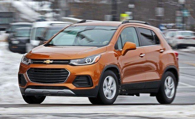 Giá xe Chevrolet Trax 2021 mới nhất tháng 1/2021 hiện nay