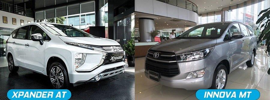 Nên chọn Xpander AT số tự động hay Toyota Innova E số sàn?