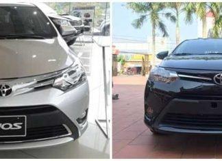 So sánh Vios E và G số tự động » Sài Gòn Ford