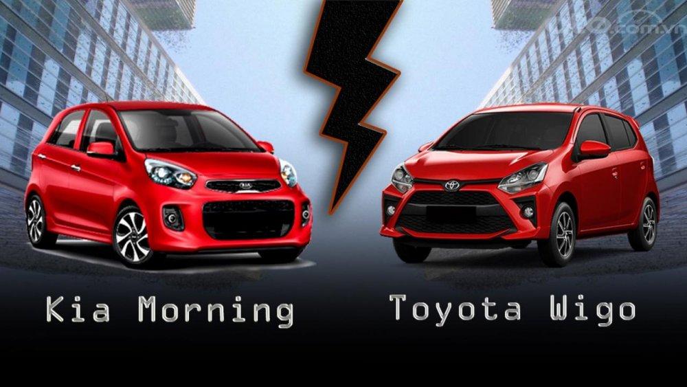 So sánh xe Toyota Wigo 2020 và Kia Morning 2020: Đại chiến phân khúc hạng A tại Việt Nam