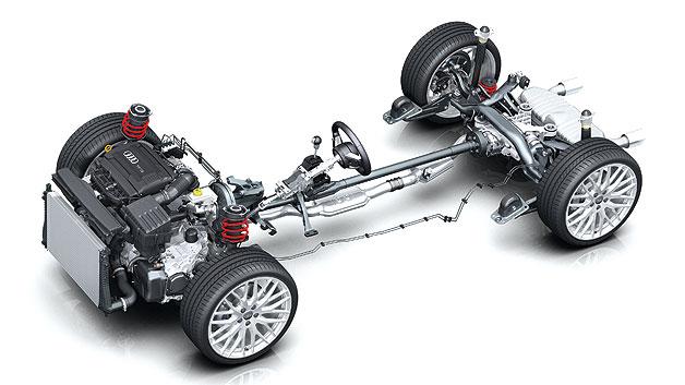 Động cơ ô tô đặt trước ghế lái (Front-engine)